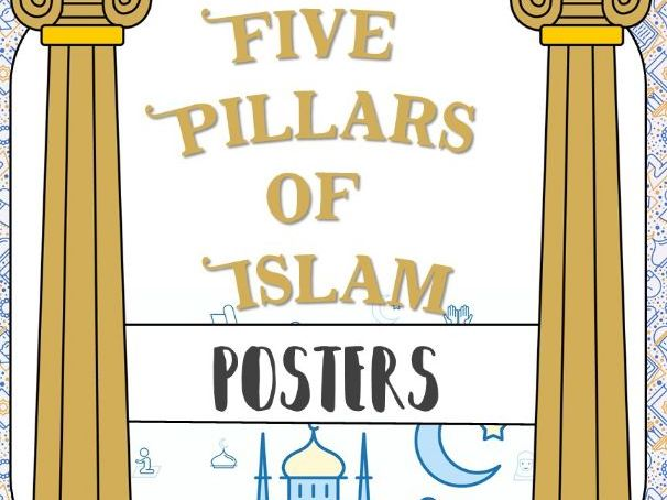 Five Pillars of Islam *Posters*