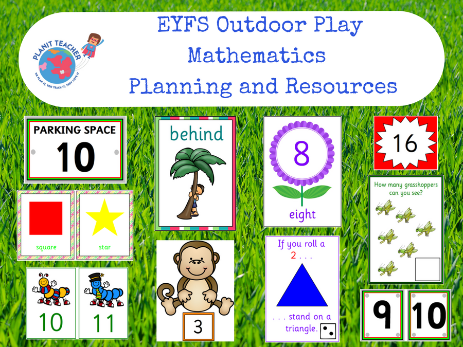 Outdoor Area Planning and Resources - EYFS Mathematics