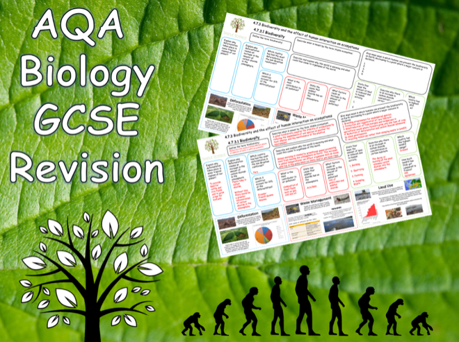 4.7.3 Biodiversity, Pollution & Global Warming - AQA Science Trilogy (Biology) Revision with Answers