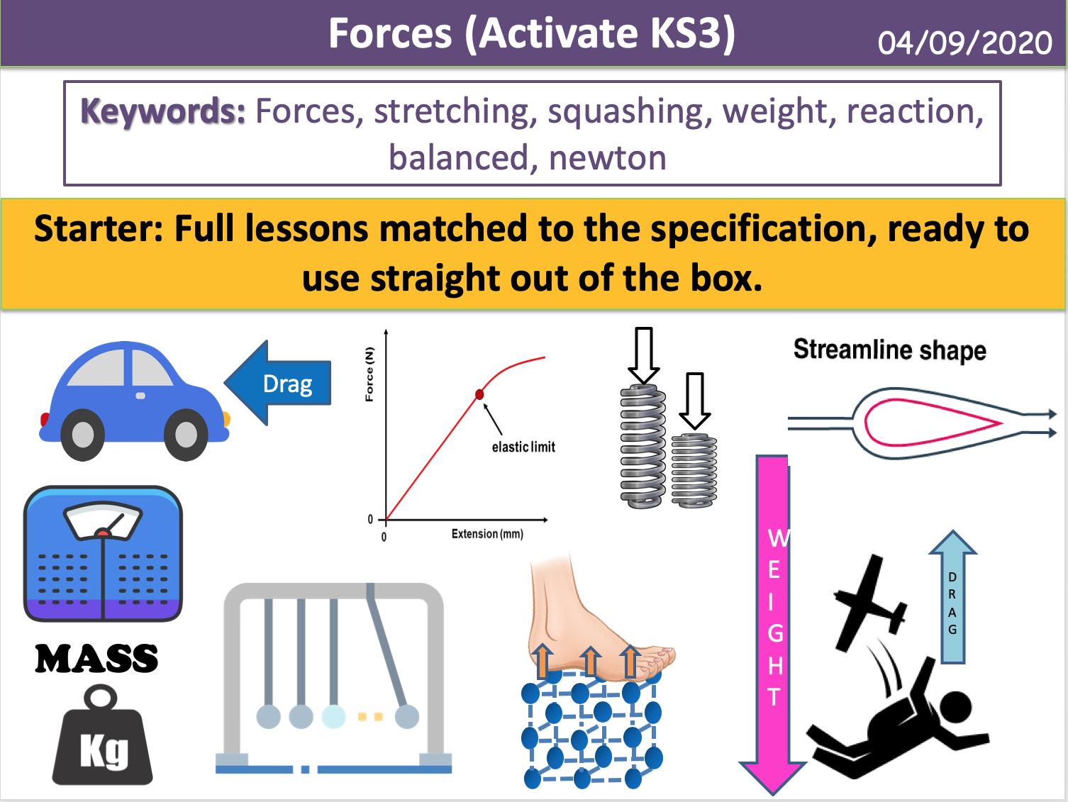 Forces (Activate KS3)