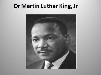 Great Lives: Dr Martin Luther King, Jr