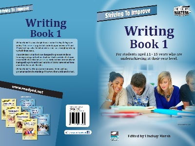 The Striving To Improve Series: Writing Book 1