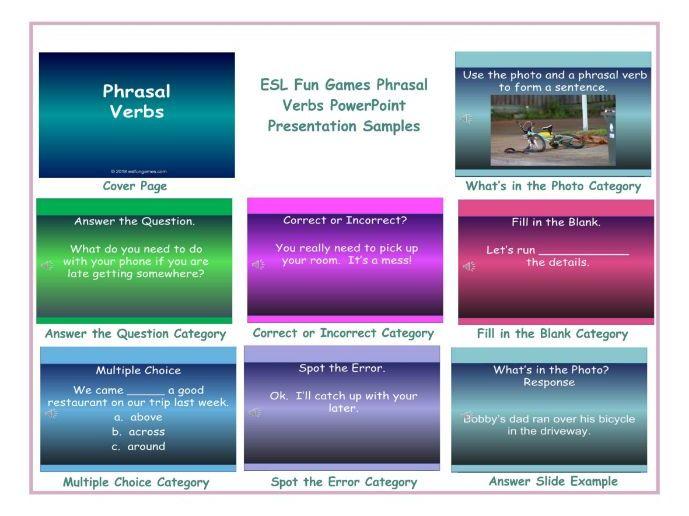 Phrasal Verbs PowerPoint Presentation