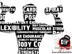 Components of Fitness Flash cards