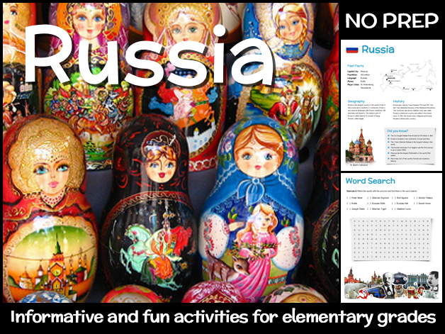 Russia (country study for elementary grades)