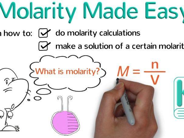 Molarity Practice Questions