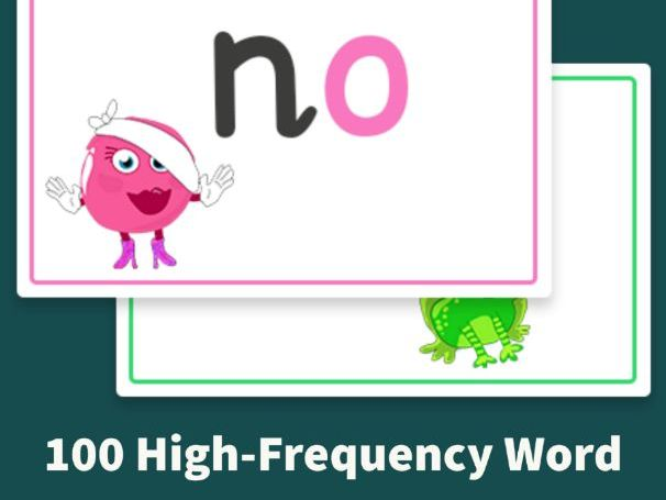 Monster Phonics First 100 High-Frequency Word Flashcards