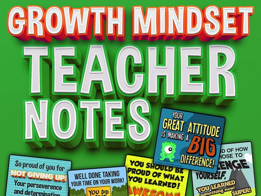 Growth Mindset Classroom Teacher Notes