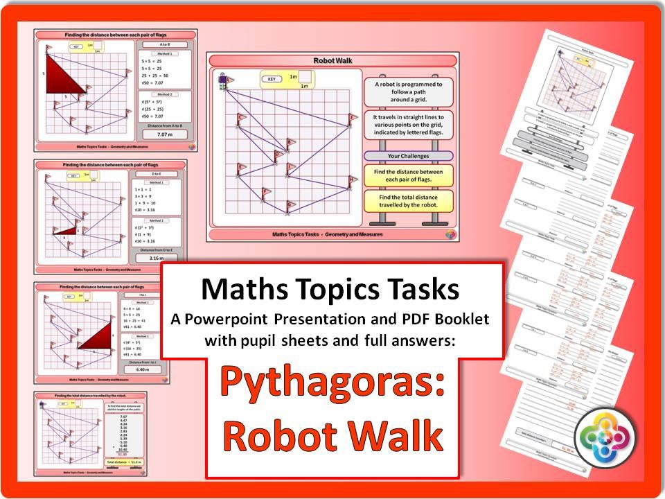 Pythagoras: Robot Walk