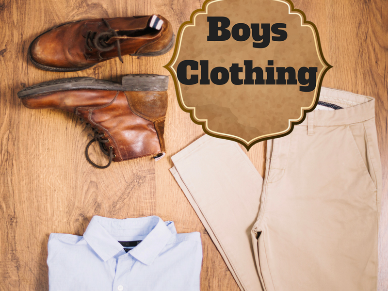 Clothing Unit, Boys Clothes Flashcards, Pecs