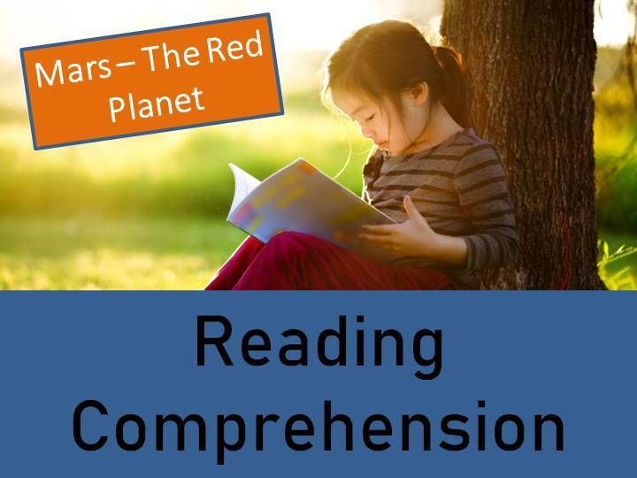 Mars - The Red Planet Reading Comprehension Activity