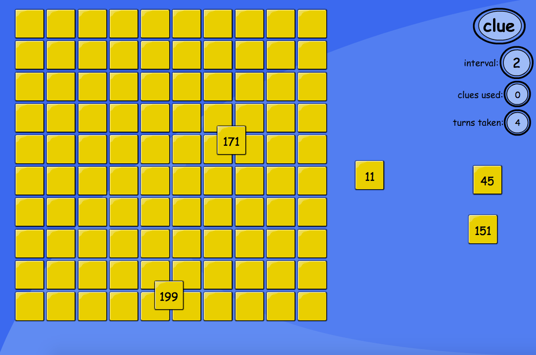 Number Square Puzzle Interactive Game - KS2 Number