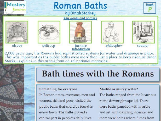 Roman Baths Comprehension KS2