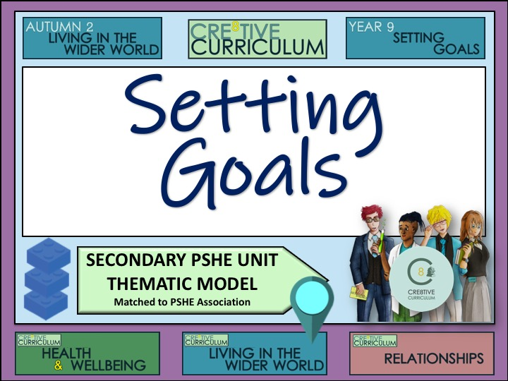 Thematic PSHE Setting Goals - PSHE Programme Builder