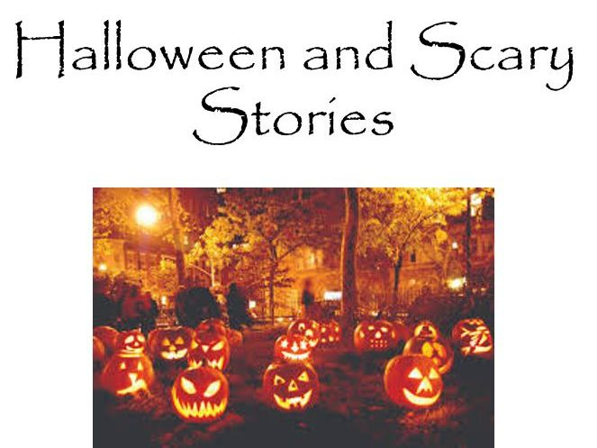 Halloween and Scary Stories ESL