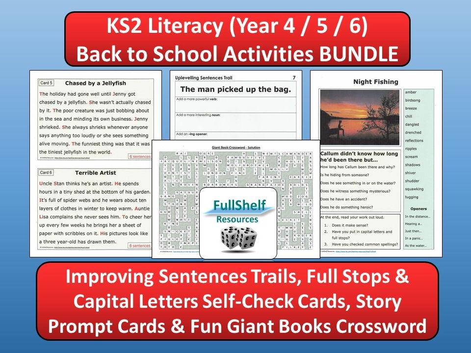 Back to School Literacy BUNDLE (KS2)