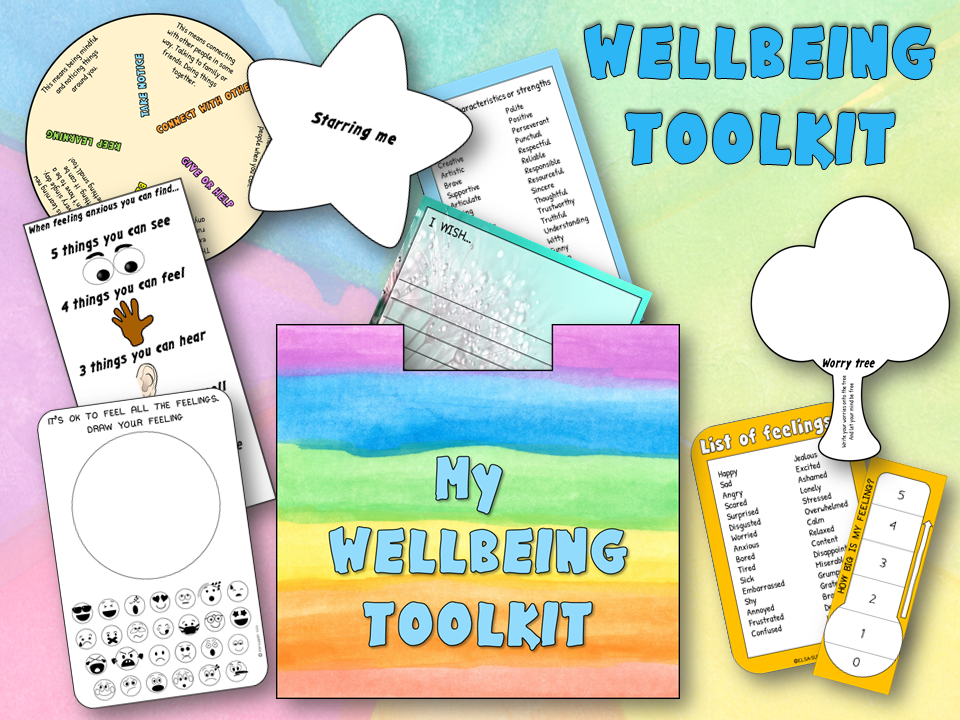 Wellbeing toolkit for home learning or school