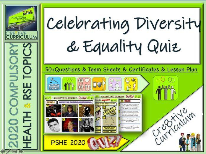 Equality Diversity Quiz
