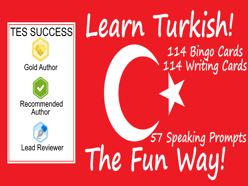 Learning Turkish Fun Teaching Bundle