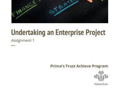 Undertaking An Enterprise Project (Level 2) - Achieve Program