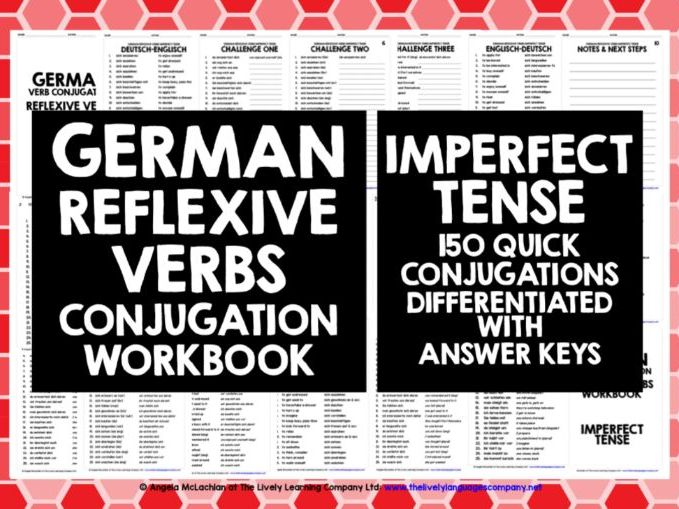 GERMAN REFLEXIVE VERBS IMPERFECT TENSE