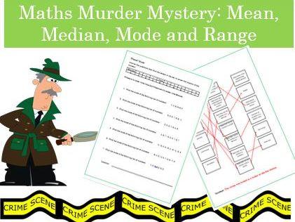 Maths Murder Mystery: Mean, median, mode and Range