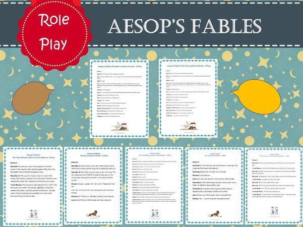 Aesop's Fable Role Play / Drama
