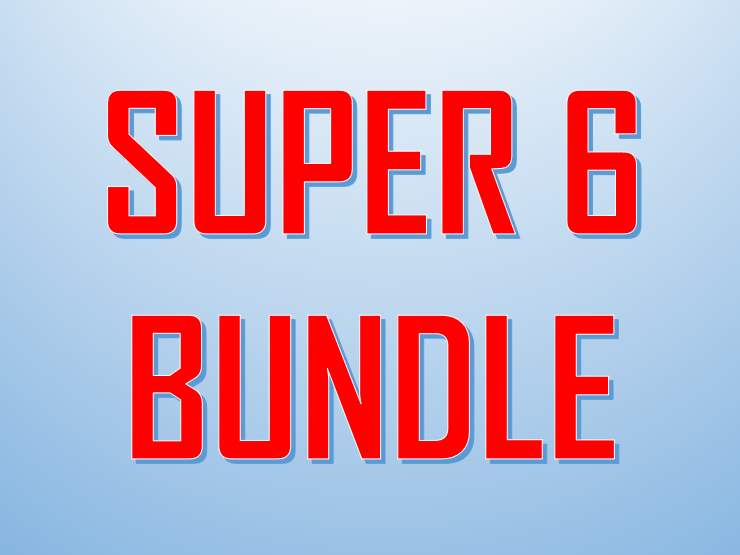 Super 6 Music Bundle