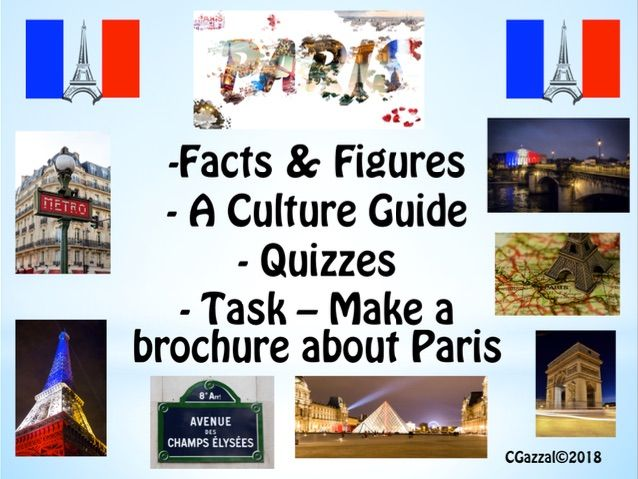 Paris - A Cultural Resource.