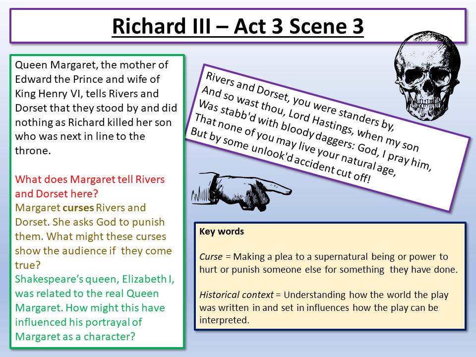 Richard III Act 3 Scene 3