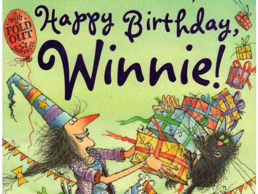 Happy birthday, Winnie! (worksheet)