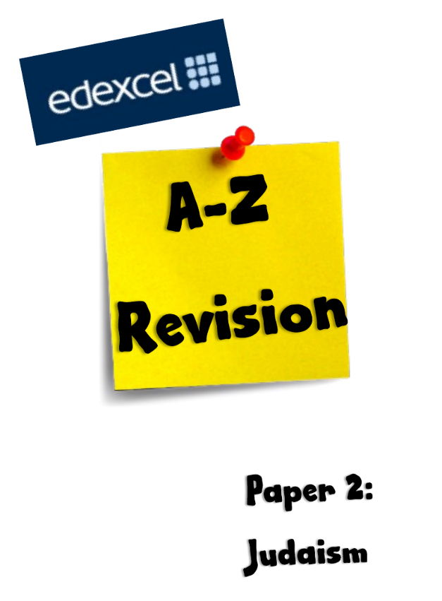 GCSE Religious Studies- Judaism Revision pack