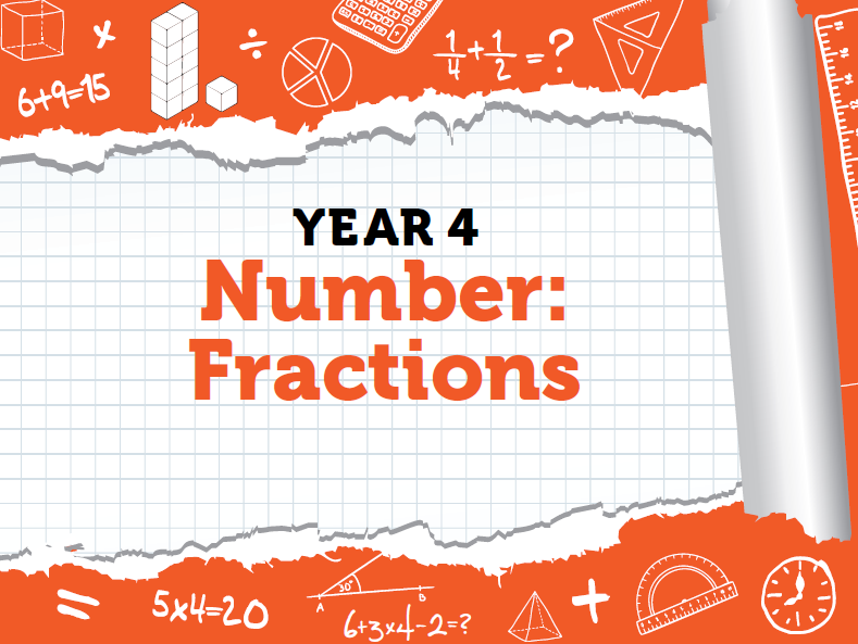 Year 4 Fraction Bundle - Spring