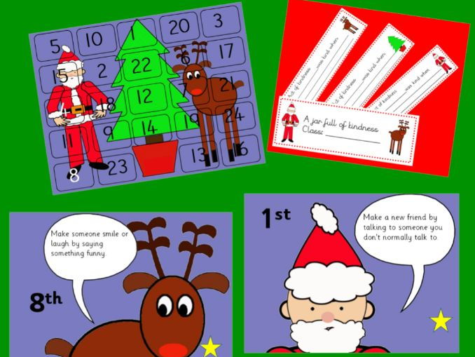 Acts of Kindness Interactive  Advent Calendar