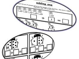 ADDITION PRINTABLES: ADDITION WORKSHEETS: KINDERGARTEN MATH PRINTABLES