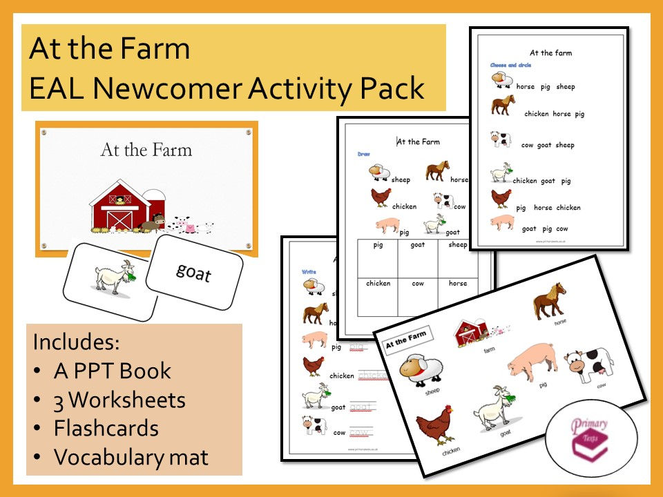 At the Farm EAL Newcomer Activity Pack