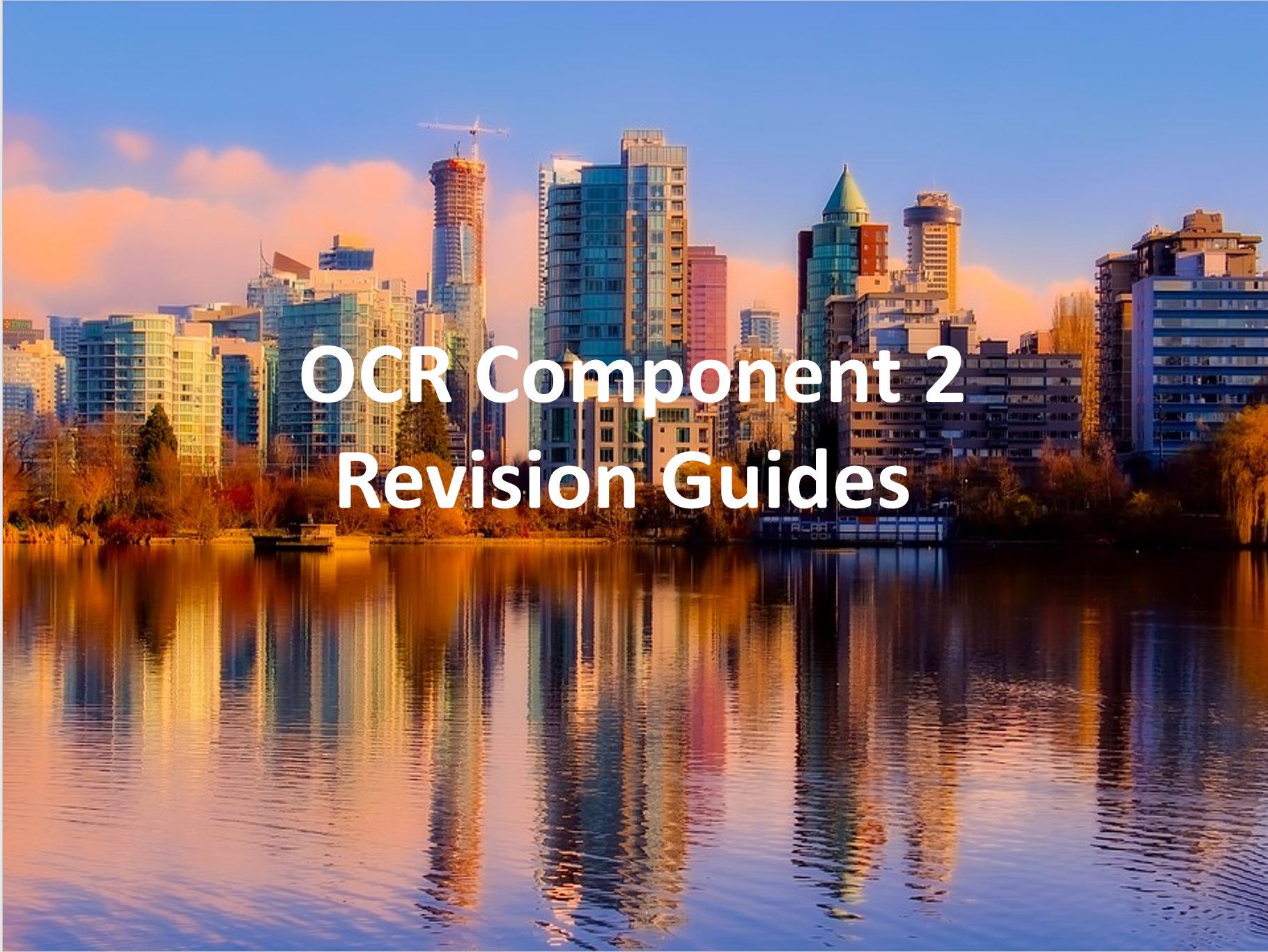 OCR Component 2 Revision Guides