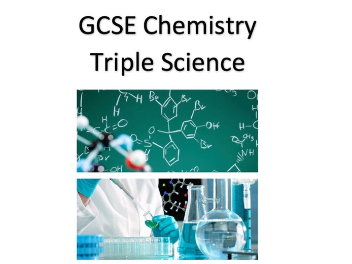 Aqa chemistry gcse worksheets