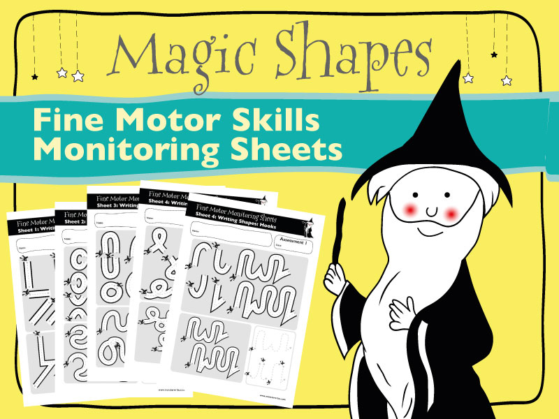 Fine Motor Monitoring Sheets