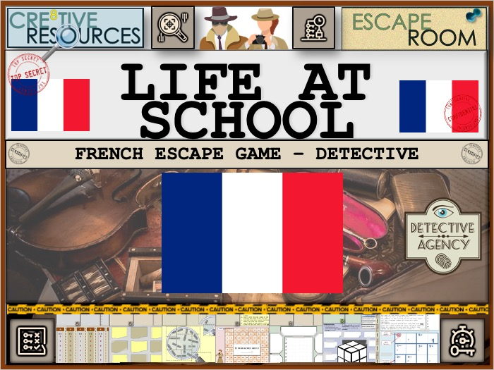 French Revision - Life at school
