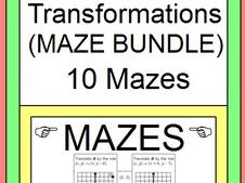 TRANSFORMATIONS: MAZE BUNDLE - 11 MAZES