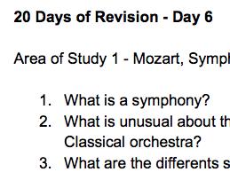 Edexcel GCSE 20 Days of Revision