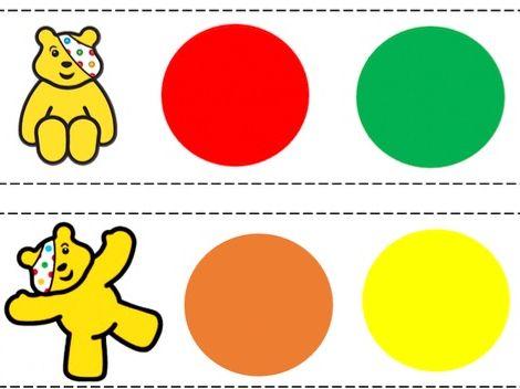 Pudsey Bear activities