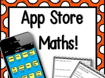 App Store Maths Activity! - NO PREP & SUPER ENGAGING LESSON