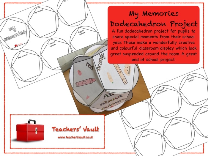 My Memories Dodecahedron Project
