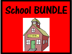 Escola (School in Portuguese) Bundle