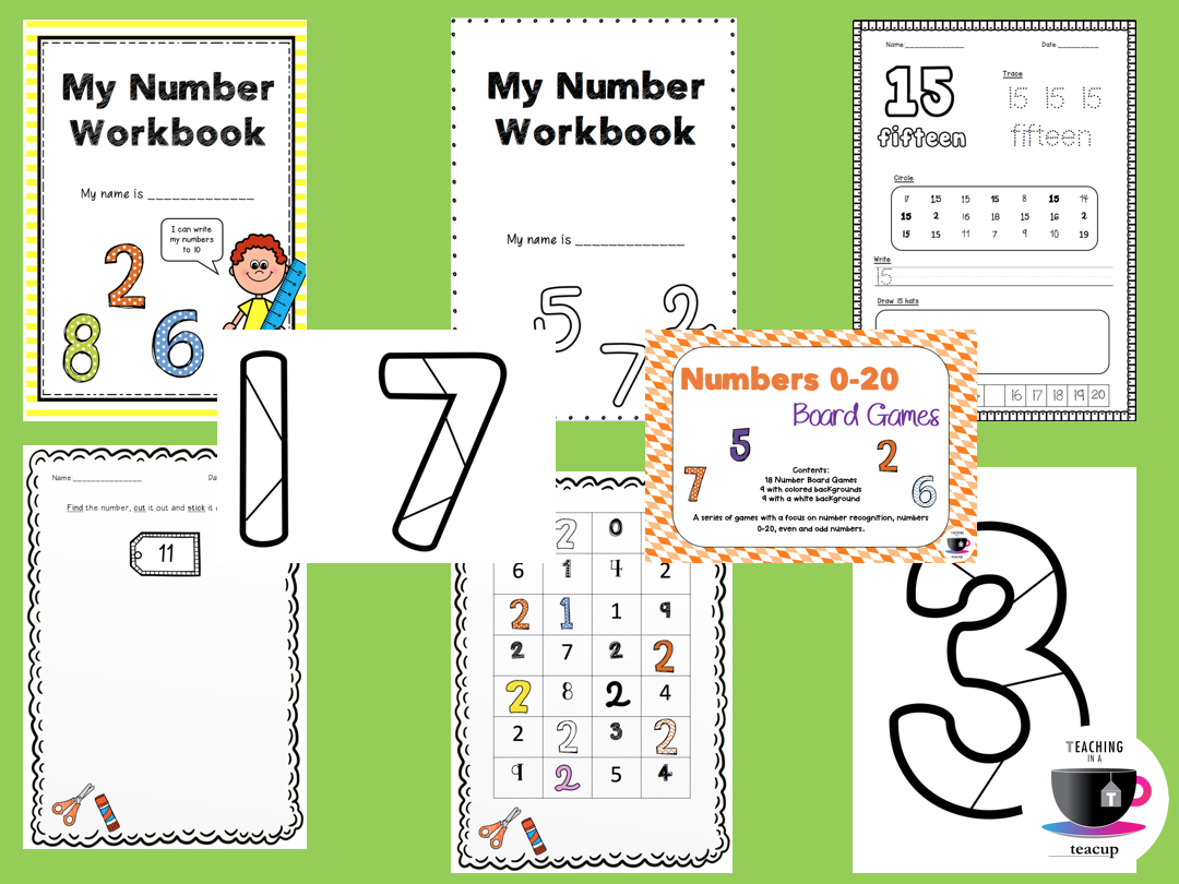 Ultimate Number Recognition and Formation  Bundle