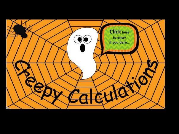 Halloween Maths Quiz Ks1
