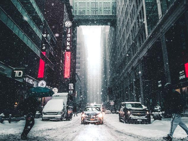 A City Winter-Frank O'Hara