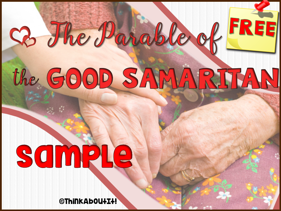 The Good Samaritan Presentation and Activities: free sample